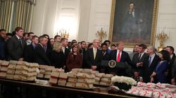 패스트푸드 좋아하는 트럼프, 역대 세계 지도자들과