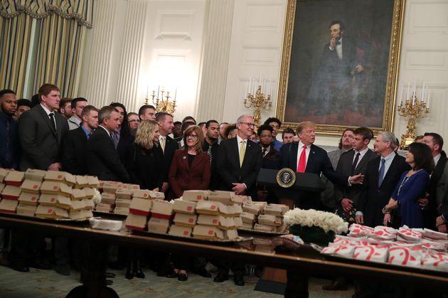 트럼프 식단의