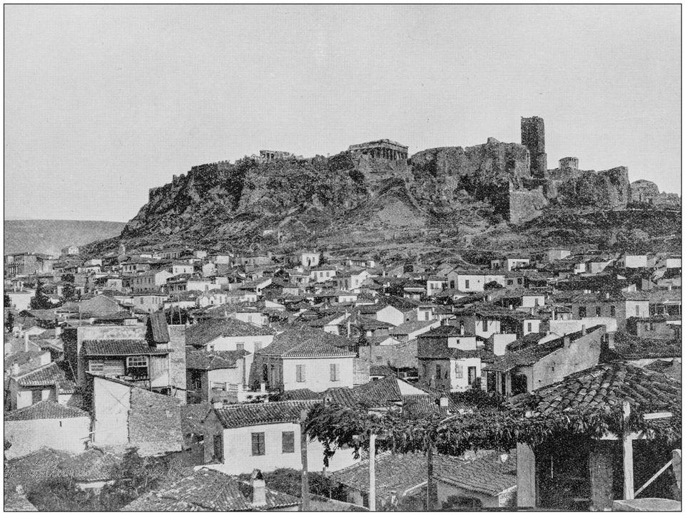 Η Αθήνα στις αρχές του...