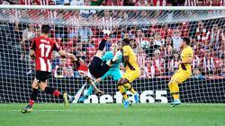 Ce but exceptionnel d'Aritz Aduriz a fait tomber le Barça en ouverture de la