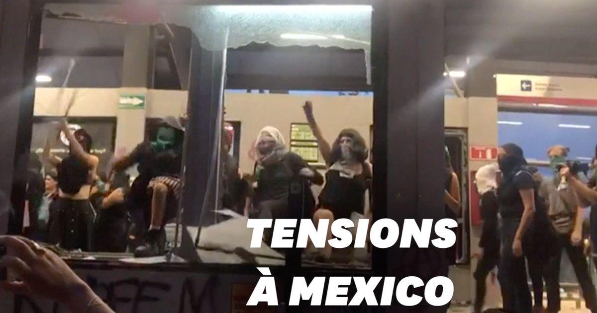 À Mexico, des milliers de femmes dans la rue après un viol présumé par des policiers