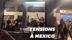 Les Mexicaines dans la rue après un viol présumé par des