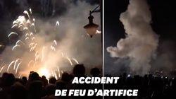 Les images du feu d'artifice de Collioure qui a atterri dans la foule et fait neuf