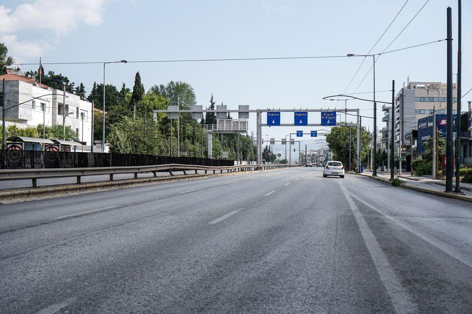 Άδεια η Αθήνα - Φωτογραφίες από την απολαυστικά έρημη