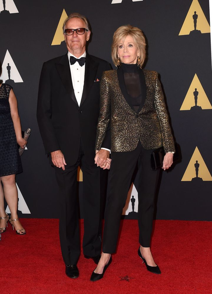 Peter Fonda and Jane Fonda attend the seventh annual Governors Awards honoring Spike Lee, Gena Rowlands and Debbie Reynolds,