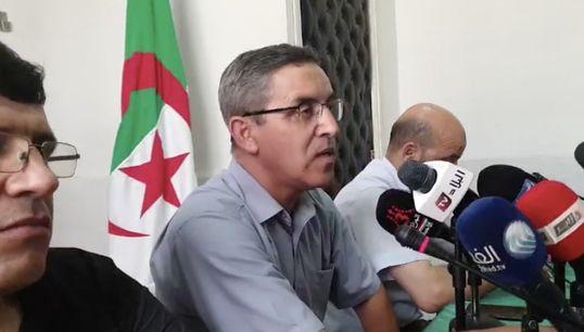 """La conférence reportée au 24 août, """"l'Algérie est dans une transition de"""