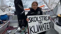 Greta Thunberg est arrivée à New York après 14 jours de voyage en