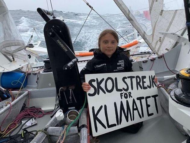 Greta Thunberg fête la 52e semaine de sa grève scolaire pour le climat au milieu de