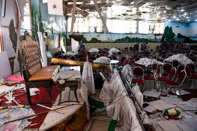 Καμπούλ: Bομβιστική επίθεση καμικάζι σε γάμο - Δεκάδες νεκροί και