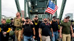 Proud Boys Deem Portland A Success Because Trump Sided With Right-Wing
