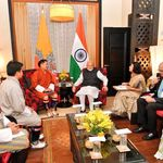 Bhutan's Leader Of Opposition Meets PM