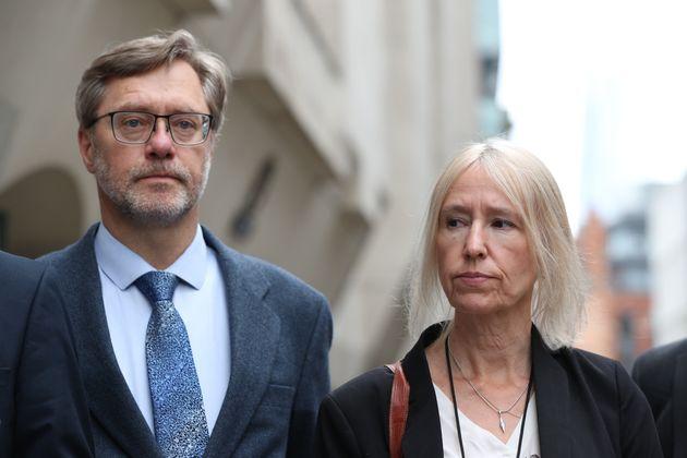John Letts and Sally Lane, the parents of Jihadi