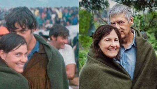 Woodstock: 50 ans plus tard, ce couple rejoue la photo de sa rencontre lors du