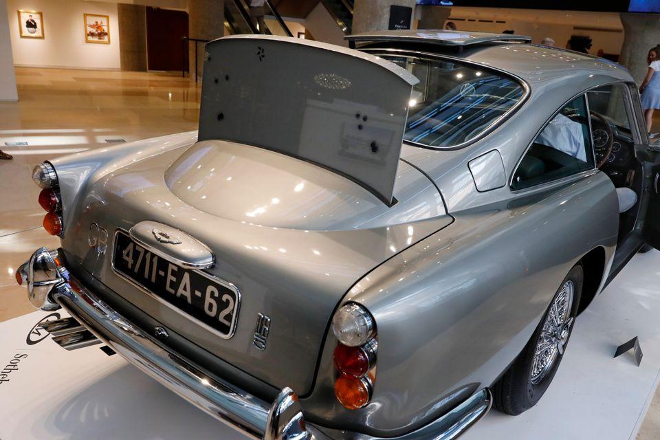 Δημοπρατήθηκε η ακριβότερη Aston Martin του Τζέιμς Μποντ σπάζοντας όλα τα