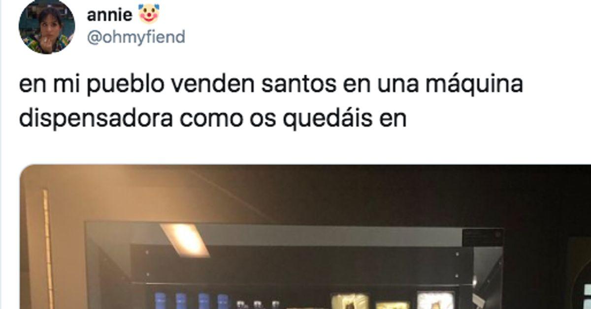Una usuaria de Twitter publica la foto de una insólita máquina dispensadora