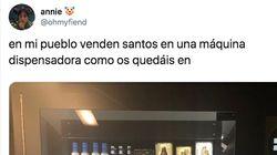 Una usuaria de Twitter publica la foto de una insólita máquina