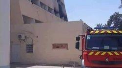 Important incendie à l'hôpital de