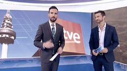 La despedida del Telediario de TVE a un compañero