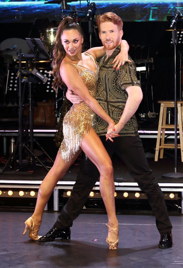 Katya and Neil on this year's Strictly professionals