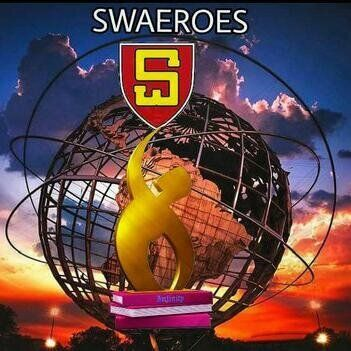 The Swaero logo shows a figure reaching for the sky, in a stylised S shape.