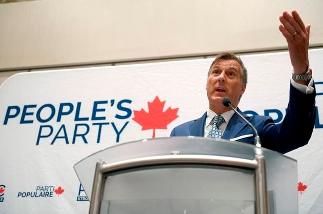 Maxime Bernier, of the People's Party, believes that if climate change is real, it is a natural cycle...