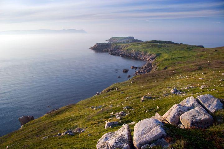 Cape Breton Island in Nova Scotia, home to the iconic Balls Creek.