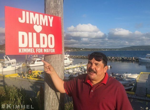 "Guillermo Rodriguez of ""Jimmy Kimmel Live"" in Dildo, N.L."