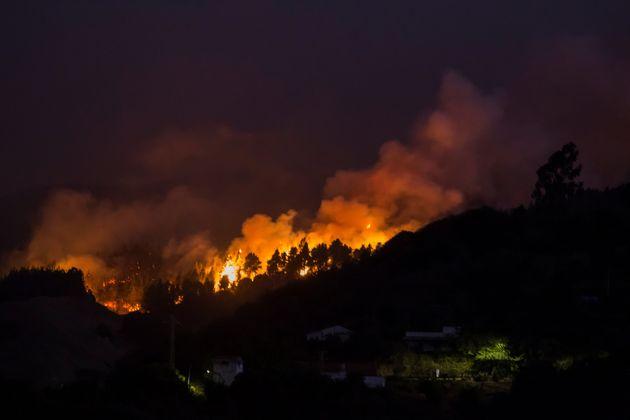 L'île de Grande Canarie en Espagne ravagée par un violent