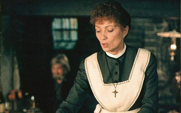 Stéphane Audran como a cozinheira francesa Babette no filme A Festa de