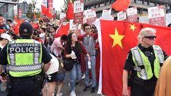 Hong Kong Protesters In Vancouver Were Faced With Mainland China
