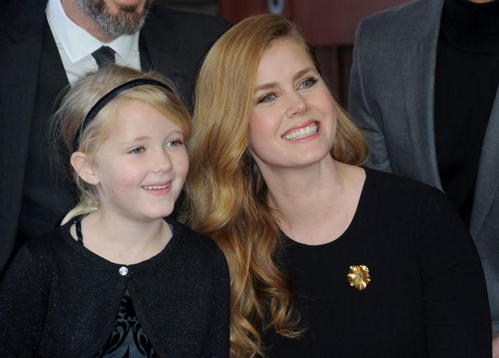 Amy Adams gave birth to her daughter Aviana in 2010.