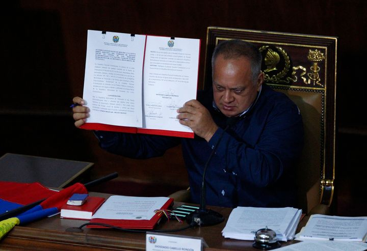It is not clear whether the talks between the U.S. and Diosdado Cabello,Venezuela's President of the National Constitue
