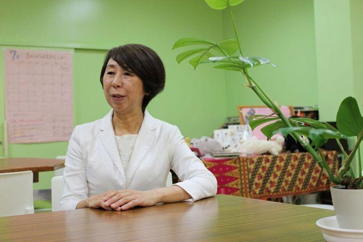 キッズドア理事長の渡辺由美子さん