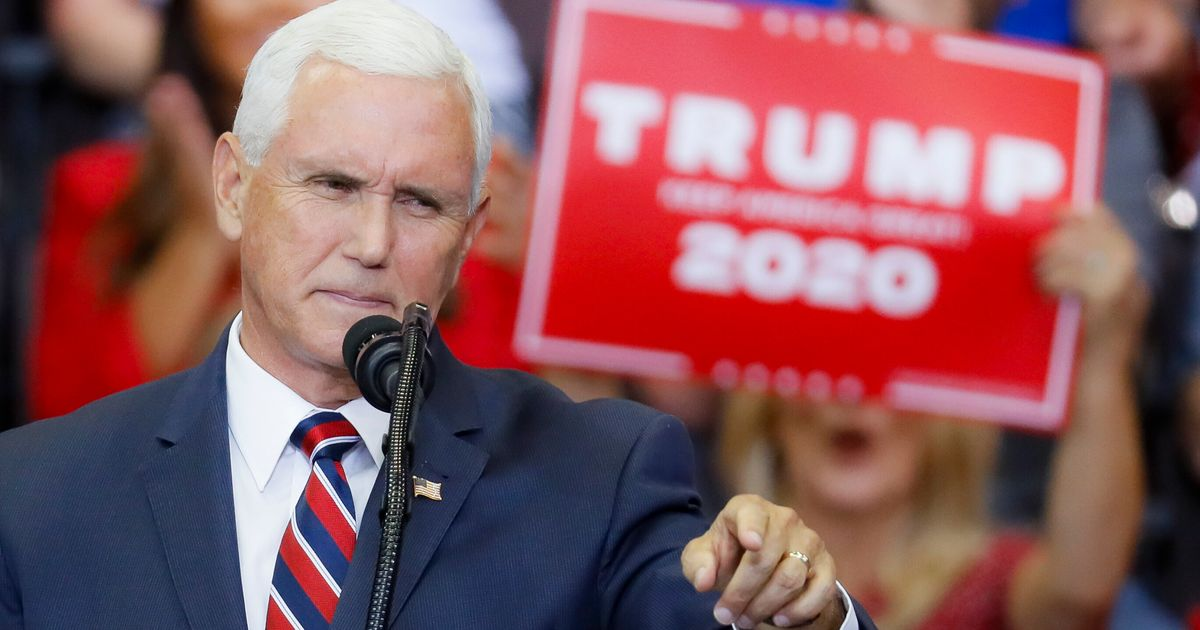 Donald Trump 'Very Happy' With Mike Pence, Says He'll Stick With VP In 2020 thumbnail