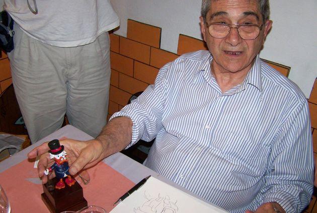 Addio a Giulio Chierchini, storico disegnatore di