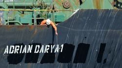 El petrolero iraní 'Grace 1' abandona el puerto de