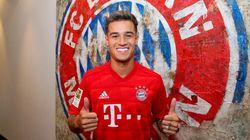 Coutinho prêté au Bayern Munich par le