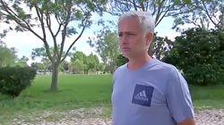 José Mourinho rompe a llorar en una
