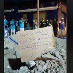 Au Kram, ces citoyens protestent d'une drôle de façon contre des travaux municipaux non achevés
