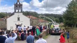 Esta boda en un pequeño pueblo de Galicia está arrasando: ojo a lo que sale de la