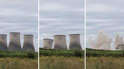 La demolizione della centrale elettrica è (quasi) da manuale. Poi parte il blackout