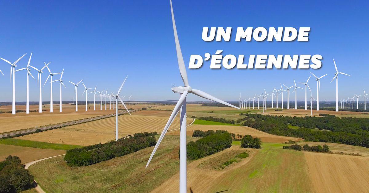 Grâce aux éoliennes, l'Europe pourrait approvisionner le monde en énergie jusqu'en 2050