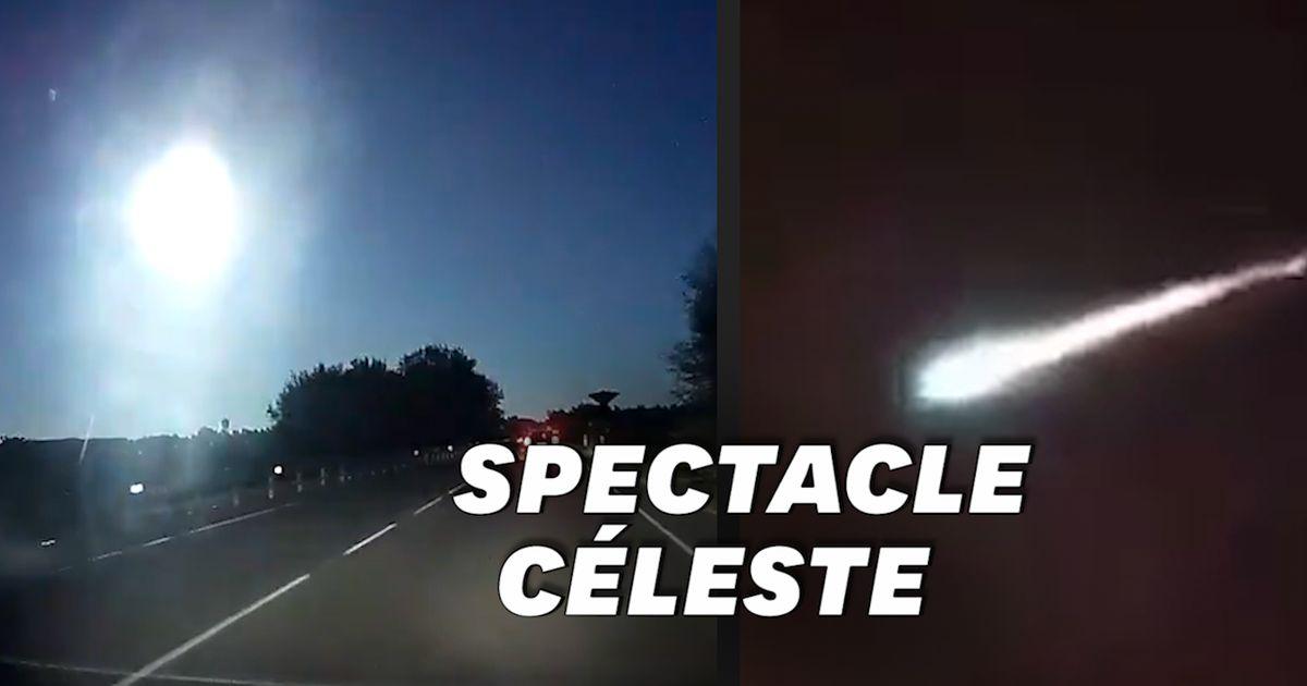 Cette impressionnante météorite a transpercé le ciel méditerranéen
