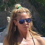 Heidi Klum bordea las normas de Instagram con una foto en