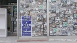 Commerces vacants: Montréal à la recherche de