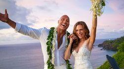 The Rock s'est marié avec la chanteuse Lauren