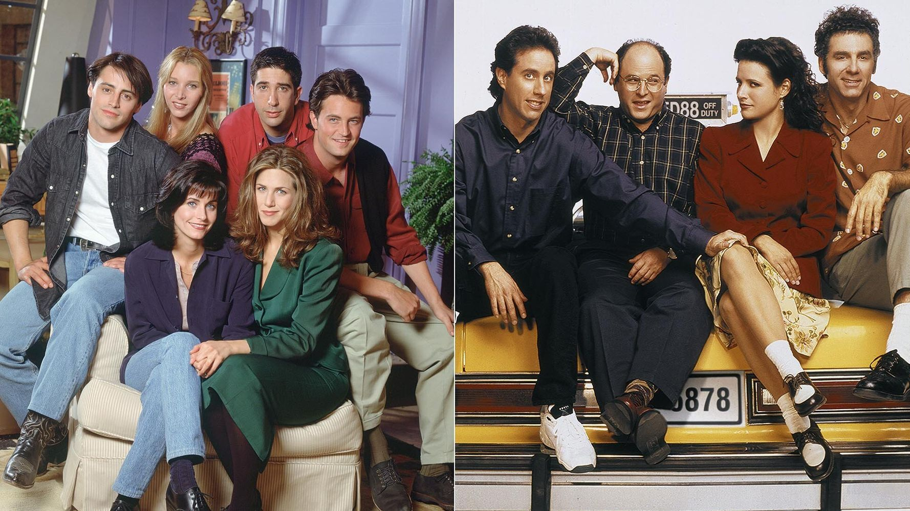 Which Is Better: 'Friends' Or 'Seinfeld'? Twitter War Erupts.