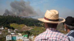 Evacuados por el incendio en Gran Canaria: entre la desolación y el temor a perder sus