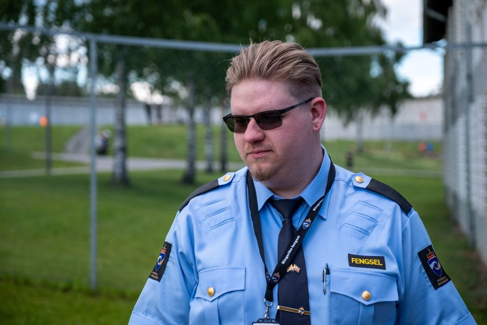 Matthew Tompkins found working at Ringerike changed the way he saw his job as a correctional