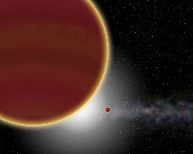 Beta Pictoris C, une exoplanète détectée autour d'une étoile très...